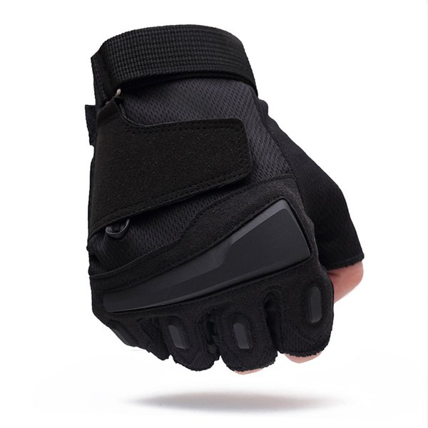Half finger tactical gloves slipCombat Paintball outdoor Men fighting fingerless gloves Anti-slip Sports