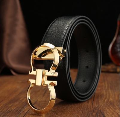 Ceintures de luxe de ceinture de concepteur des hommes pour les hommes grande boucle ceinture haute mode Ceintures en cuir véritable en gros livraison gratuite.