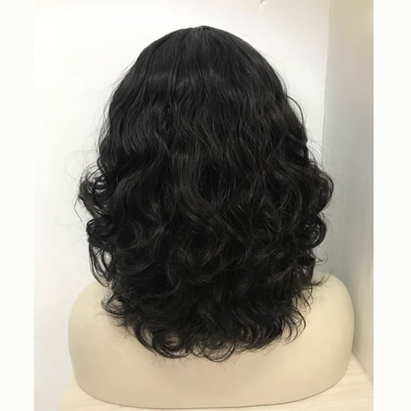 Le beauty hair slight layer front lace kosher wig 100% European virgin hair jewish wig ,kosher wig Best Sheitels free shipping
