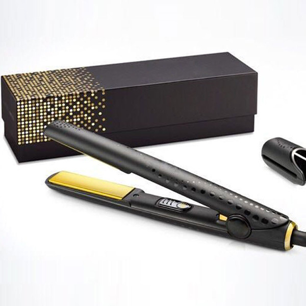 top popular V Gold Max Hair Straightener Classic Professional styler Fast Hair Straighteners Iron Hair Styling tool Good Quality 2020