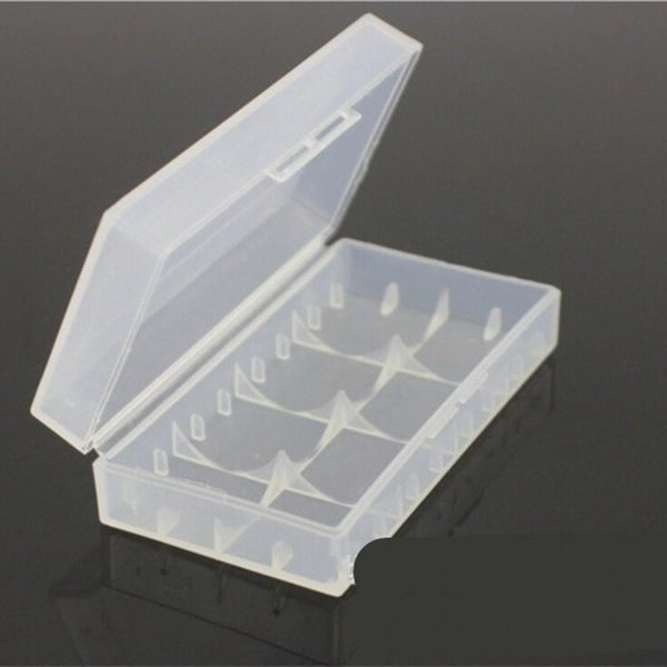 New Creative Light Packing Boxes Safety Holder Case Plastic Durable Storage Containers Transparent Battery Box Hot Sale 0 5ym aa