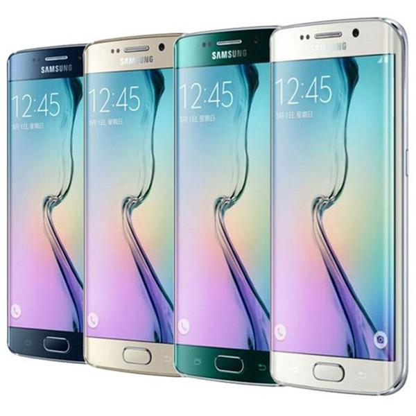 Refurbished Original Samsung Galaxy S6 Edge G925F G925A G925V G925T G925P 5.1 inch Octa Core 3GB RAM 32GB ROM 16.0MP Camera LTE NFC DHL 1pcs