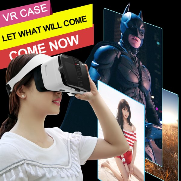 2018 new arrival hot sale Multicolor Best Gift 3D VR glass case Box for mobile phone