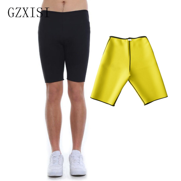 wholesale Plus Size 3XL Men Super Stretch Neoprene Control Slimming Shorts Best Sales Sweat Sauna Body Shapers Breathable Underwear Pants