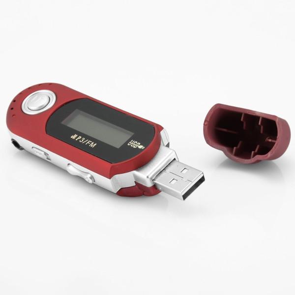 Mini USB Digital MP3 Music Player LCD Screen Support 32GB TF Card /& FM Radio 1PC