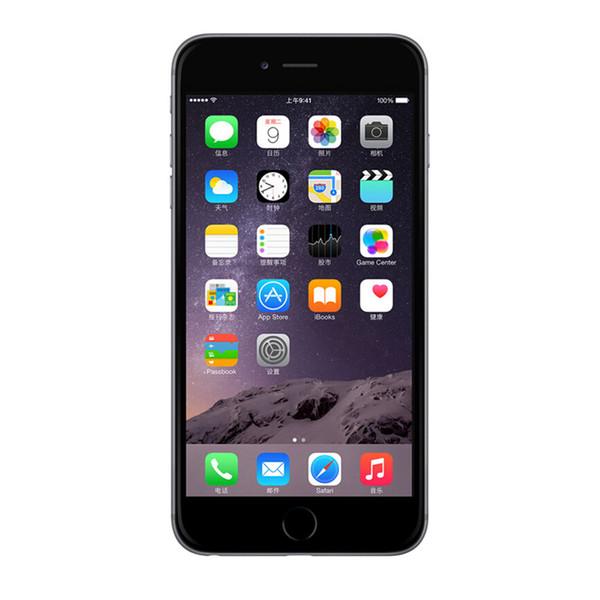 128GB 64GB 16GB Refurbished Apple iPhone 6 Plus Touch ID 4G LTE iOS 8.0 11.3 Dual Core A8+M8 5.5 inch Retina Screen 1920*1080 FHD Smartphone