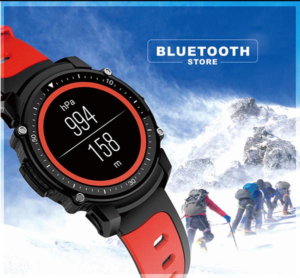 Relógio inteligente F08 1.26 Polegada Display IP68 À Prova D 'Água Bússola Pedômetro Ciclismo Montre Inteligente Reloj Inteligente GPS em Tempo Real Localização