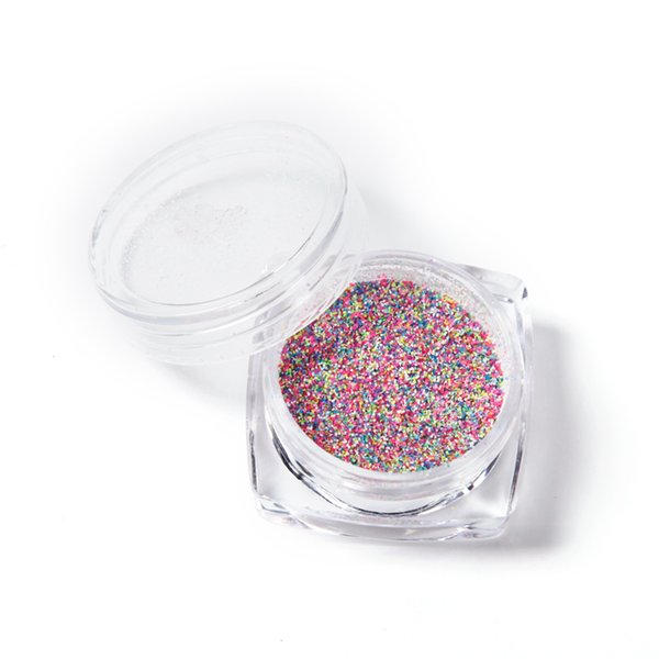 Moda Misturado Cores Prego Em Pó Prego Glitter Art Decoração Manicures Mulheres Unhas DIY Decoração 6 Cores
