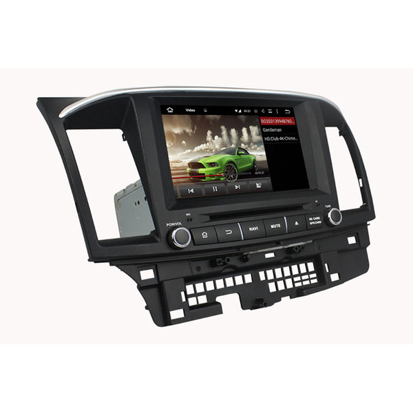 Car DVD player for MITSUBISHI Lancer 2014-2015 8Inch 2GB Andriod 6.0 with GPS,Bluetooth