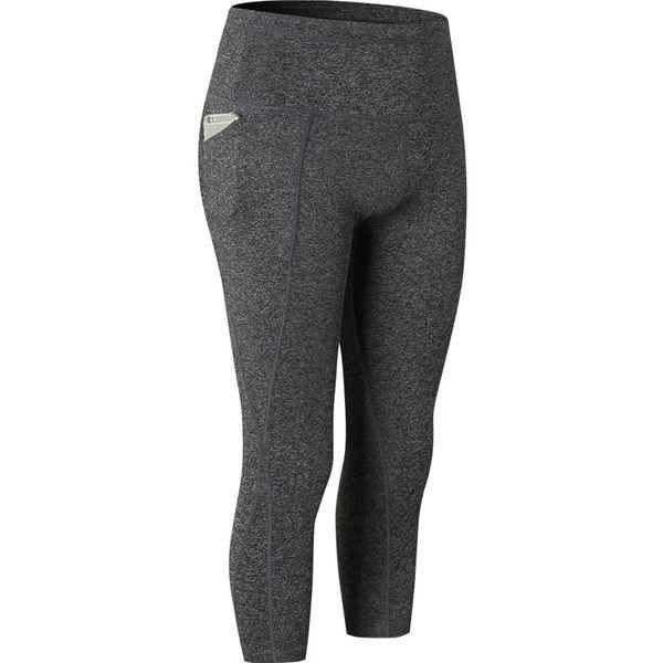 Pantalone asciugatura rapida Yoga Capris sportivo Pantaloni Donna sportiva Leggings Fitness Yoga