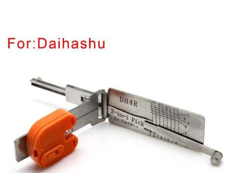 best selling Car locksmith tool smart DH4R 2 in 1 auto pick and decoder for daihashu