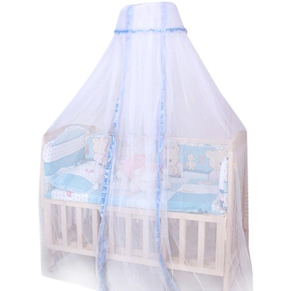 HOMEGD Round Dome Baby Infant Mosquito Net Toddler Bed Crib Canopy Netting White Babe 18Mar26 Drop Ship
