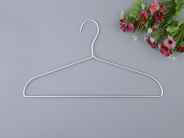 100pcs new aluminum alloy clothes rack for shirts, clothes drying hanger, clothes finishing, space saving