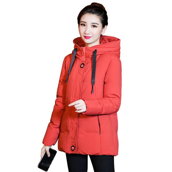 Winter Cotton Padded Lining Jackets Women's Coats Plus Size L-5XL Padded Short Parkas Outwear for women Jaquata Feminina Inverno