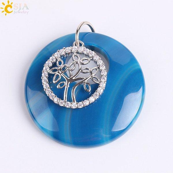 Blue Veins Agate
