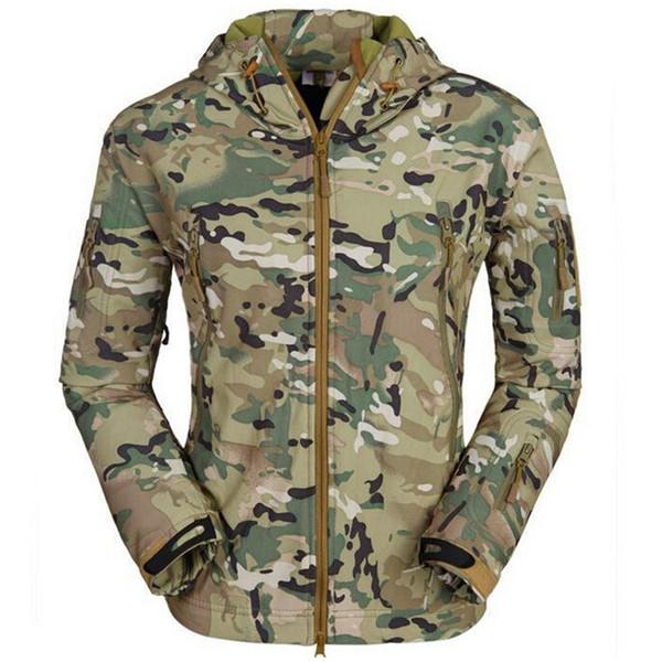 Lurker Shark skin Soft Shell TAD V 4.0 uniform Tactical Softshell Jacket Waterproof Wind protection warmth coats