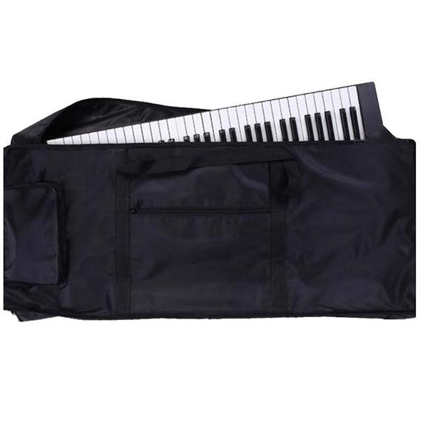 Waterproof 61 Keys Keyboard Bag Backpack 100 x 40 x 15cm black