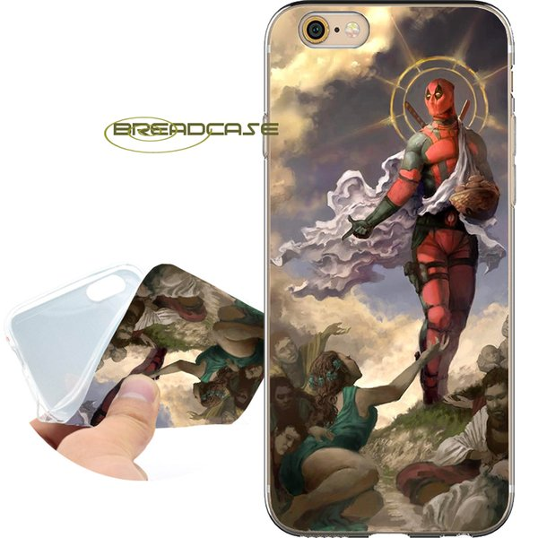 FADL002 Deadpool Fundas Phone Shell Cases for iPhone 10 X 7 8 6S 6 Plus 5S 5 SE 5C 4S 4 iPod Touch 6 5 Soft TPU Silicone Cover.