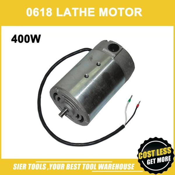 best selling Mini Lathe Motor 400W DC Motorfor 300mm distance lathe and our Drill&Mill Machine 0618 lathe motor 83ZYT001