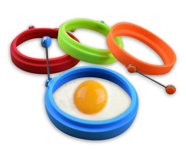 Silicone Omelette Mould Fried Egg Pancake Ring Fried Egg Round shape Egg Mold Cooking Mould Breakfast Essential 300Pcs