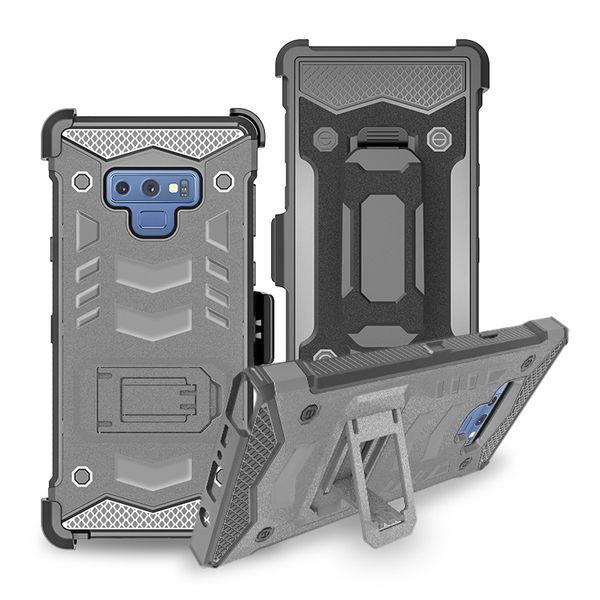 Venta al por mayor para LG Stylo 4 Q7 Q7 PLUS K10 2018 / CV3 Kickstand Holster Bossy Combo caja del teléfono celular