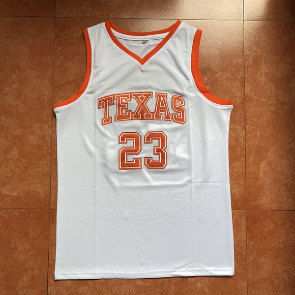 newest collection 47c32 21516 2019 #23 Khris Middleton Texas College Basketball Jersey Men'S Embroidery  Stitches Customize Any Number And Name Jerseys From Abao20, $40.6 | ...