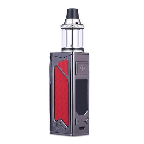 2PCS/lot 100W box mod electronic cigarette kit LED Screen 2200mah bulit-in battery 0.3ohm tank 3.5m Vapor e-cigarette kit