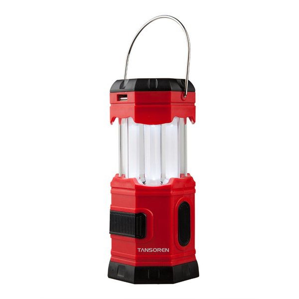 Joncson Led Solar Usb Rechargeable 180 Lumens Waterproof Camping Lantern  Portable Emergency With S Hook Coleman Led Lantern Large Lanterns From