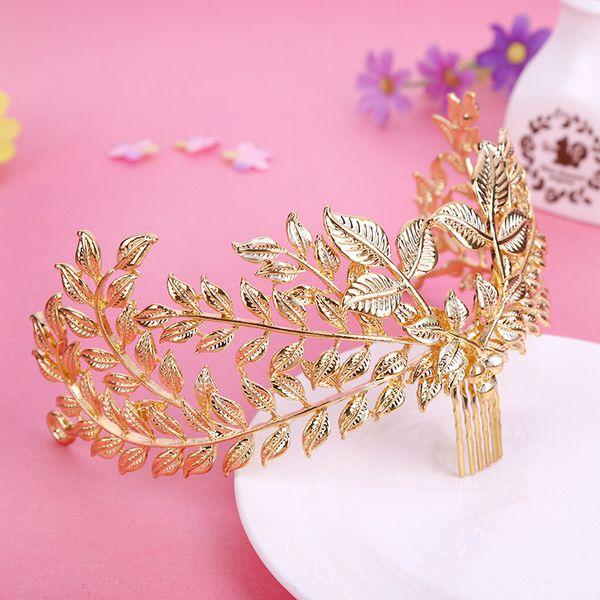 Bridal leaf ornaments
