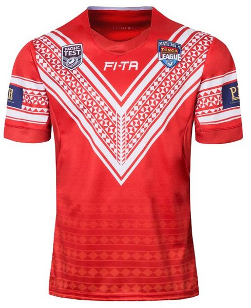 TONGA RUGBY LEAGUE 2018 HOME JERSEY