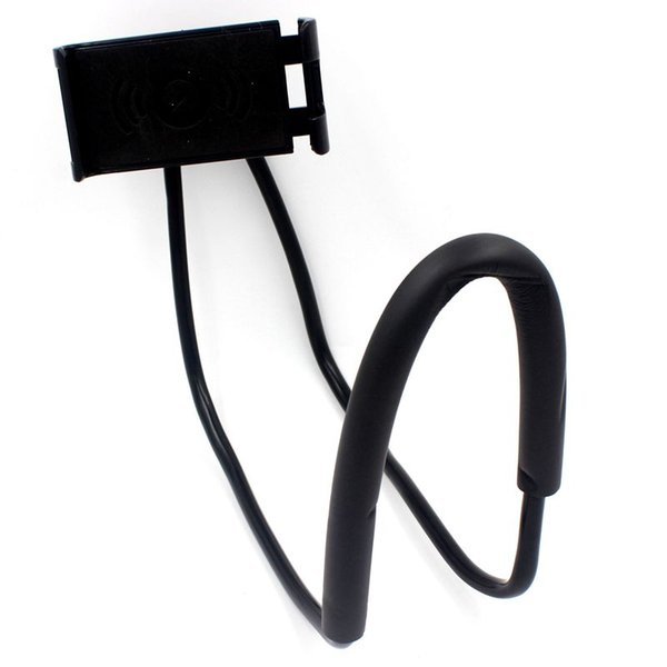 Lazy Bracket 360 Degree Rotation Flexible Phone Selfie Holder Snake-like Neck Bed Mount Anti-skid For iPhone Android