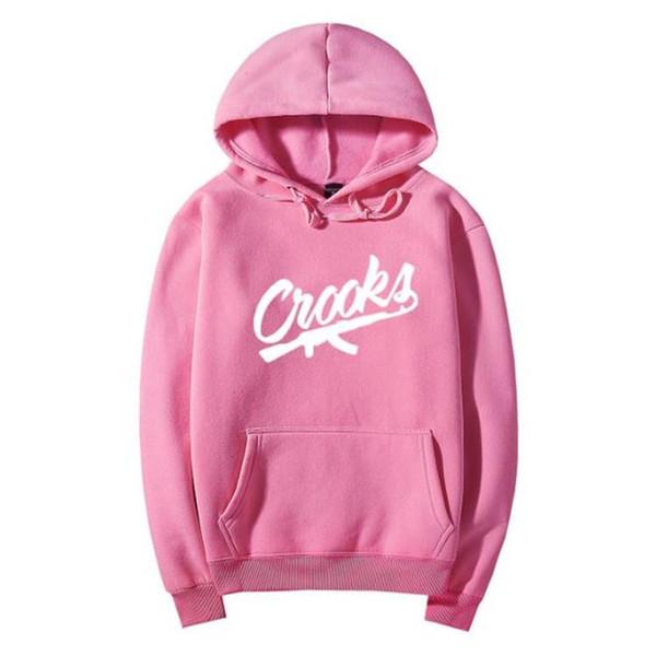 Unisex Crooks And Castles Sudaderas Autumn Spring Cotton Nuevo Diseñador Crewneck Sprotswear Sudaderas con capucha para hombre Hip Hop Clothing 03