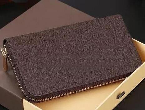 2018 Hohe Qualität Echtes Leder Geldbörsen Heißer Verkauf ry Designer Herren und Damen Brieftaschen Geldbörse Kartenhalter CLuxulutch Handtaschen Lange Brieftasche