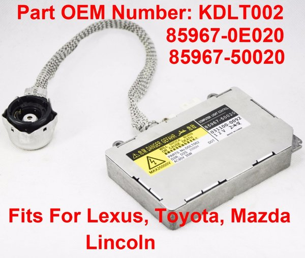 top popular Xenon orginal used brand new HID Headlight Ballast Control Unit 85967-50020 For Lexus ES 2000-2006 GS 1998-2005 Toyota 2003-2007 2019