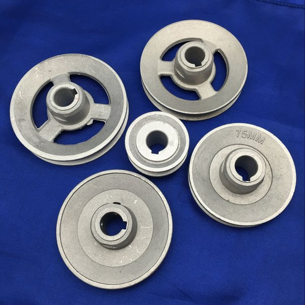 Pulley Belt Diameter Size 45mm 75mm 80mm 85mm 90mm Industrial Sewing Machine spare parts timming transfer wheel YJ06