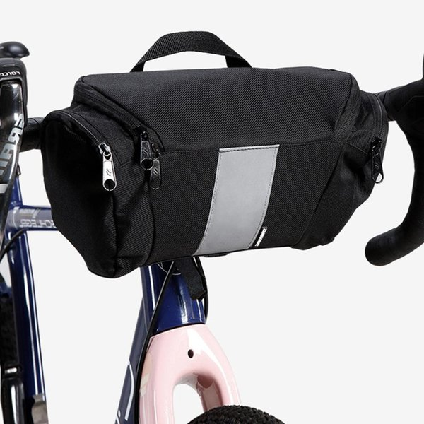 New Bike Front Bag Waterproof Bicycle Handlebar Basket Pack Cycling Front Frame Pannier Bicycle Accessories
