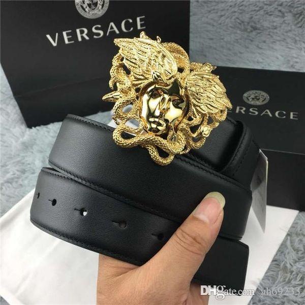 a basso costo bc0ec 25b06 Acquista 2018 Cintura Moda Uomo Fashion Designer Brand Cinture ...