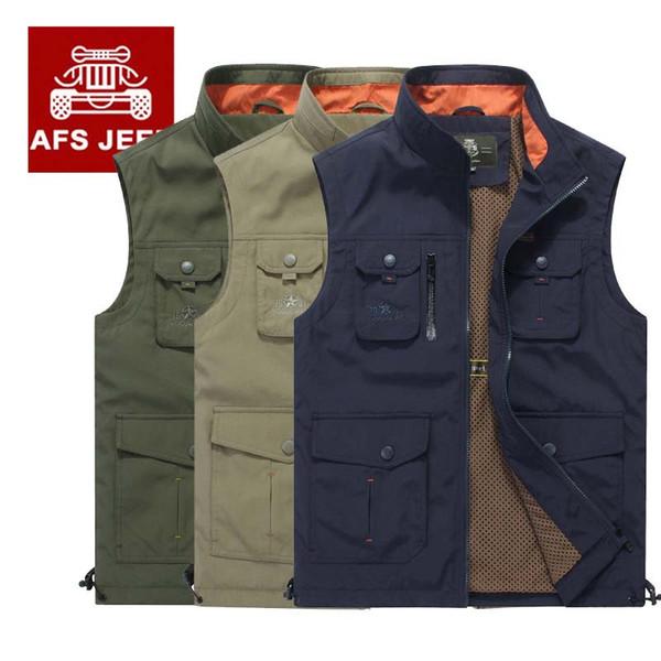 Kleidung Herbst Sleeveless Weste Marke Vielen Foto Jacke Mit Männlichen Männer Großhandel 19 Stickerei Von Seein49 Sommer Neue Taschen 8wNn0m