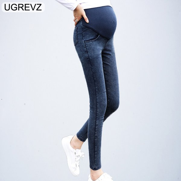 Maternity Jeans for Pregnant Women Pregnancy Spring Fall Jean Pants Maternity Clothes for Pregnant Women Summer Nursing Trousers
