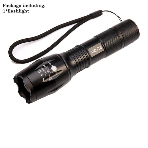 single flashlight