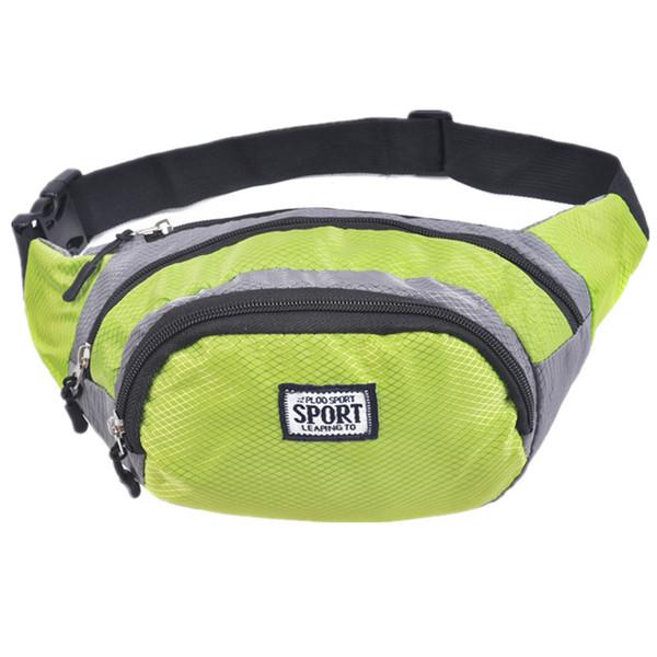 2018 Men Male Outdoor Sports Waist Bag Brand Belt Running Bag Waist Packs Suit for 3 Colors Bags For Men
