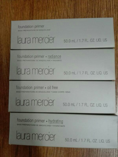 Brand New Laura Mercier foundation primer /Radiance/ Oil free /hydrating face makeup 50ml drop shipping