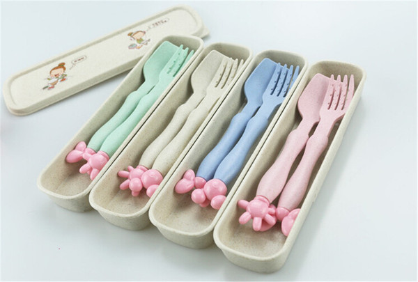Dinnerware Baby Spoons Tableware Gadget Boon Children Flatware Feeding Forks Infant Cutlery Spoon For Baby Kid Utensils