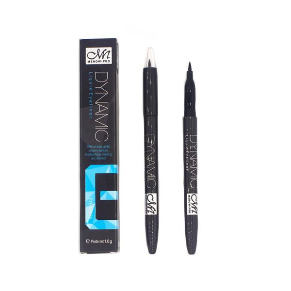 MENOW brand cosmetics eyeliner waterproof black brown super smooth eyeliner lasting Korean makeup tools