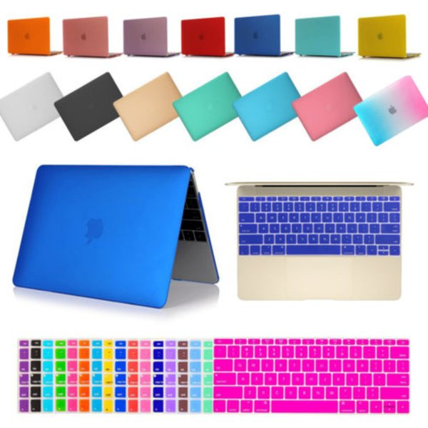 "For Macbook Air 11"" 13"" Pro Retina 12"" inch Rubberized Hard Case Shell Keyboard Cover High Quality"