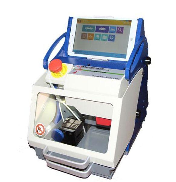 New 100% Original DHL free TOP Quality Full-Automatic Car Key Cutting Machine SEC-E9z CNC automatic key cutting machine Multi Language