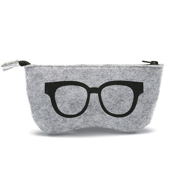 1PC Hot Zipper Eye Glasses Sunglasses Case Pouch Bag Box Storage Protector Fashion Eyewear Accessories