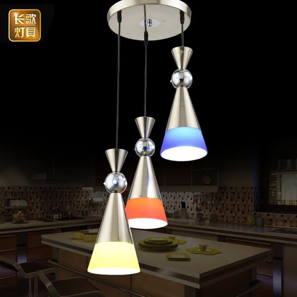Compre Lámpara De Comedor Tres Lámparas LED Simples Modernas Lámpara De  Mesa De Comedor De Una Sola Cabeza A $110.64 Del Amarylly | DHgate.Com