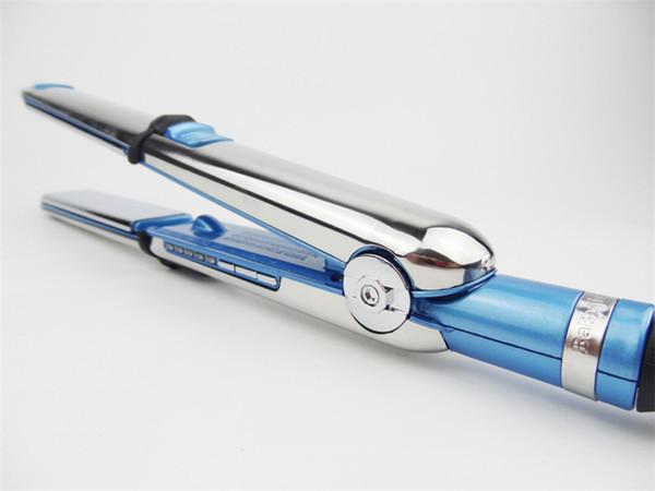 In stock optima 3000 hair straightener PRO Na-No TITANIUM plate Flat Iron Ionic Hair Straightener free shipping