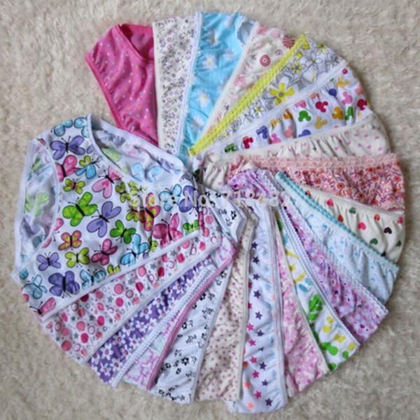 top popular kids baby cotton child underwear panties girls pants panties children girl underwear kids 2019